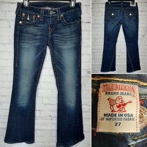 True Religion Joey Bootcut Jeans size 27